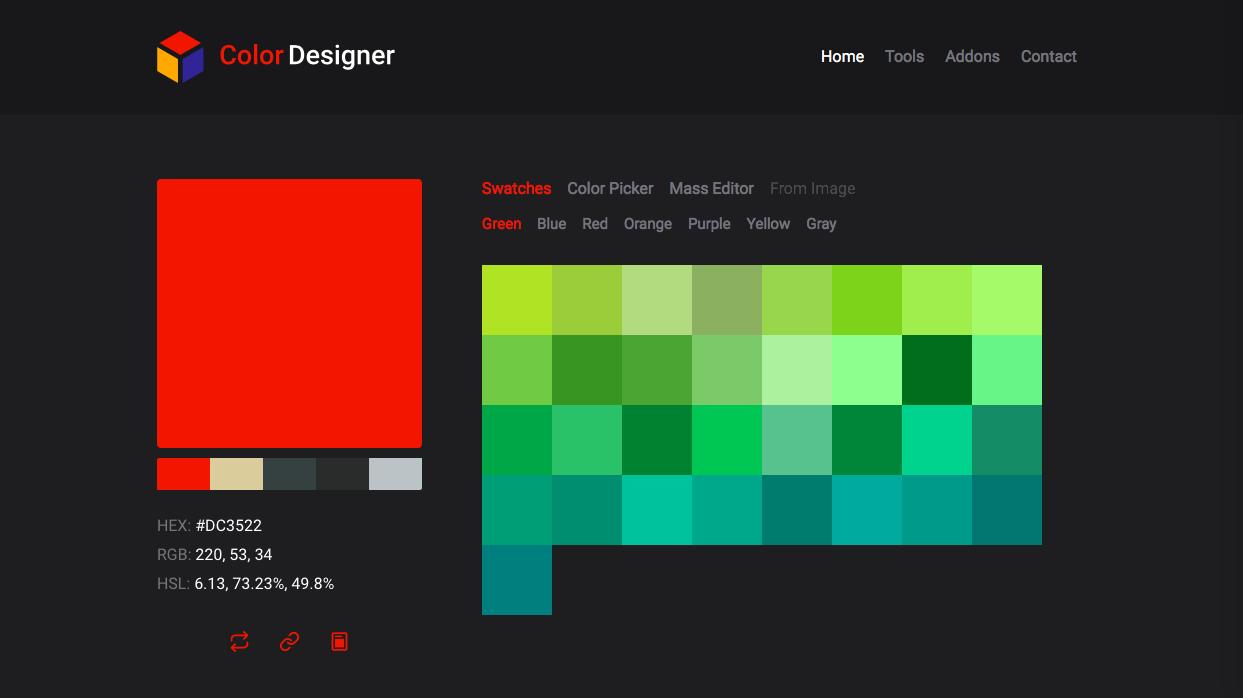 color designer - Webデザイン・UIデザイン関連のカラーツールまとめ