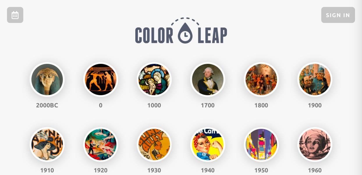 color leap - インスピレーション系カラーツールまとめ