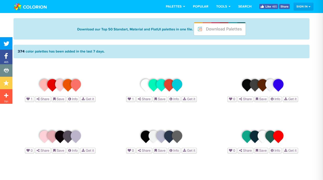 colorion - データベース系カラーツールまとめ