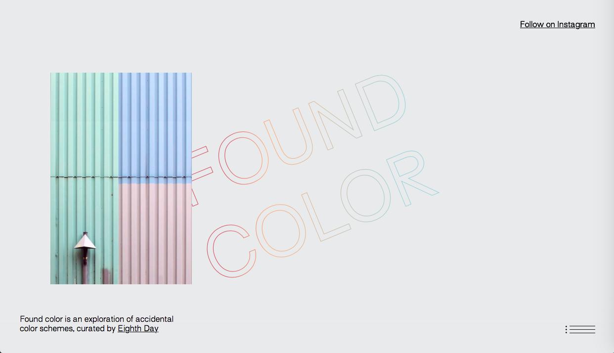 found color - インスピレーション系カラーツールまとめ