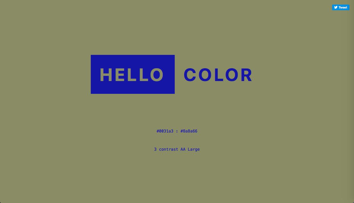 hello-color