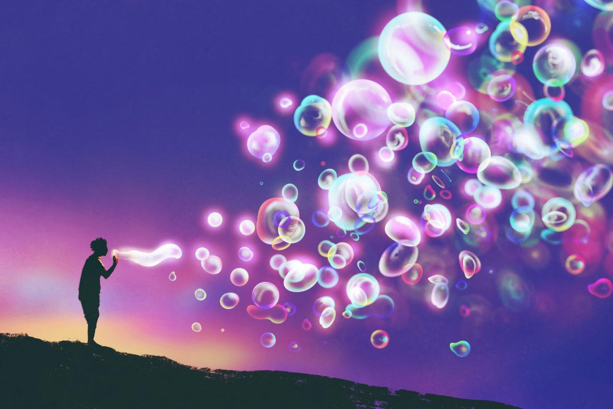 human-night-bubble