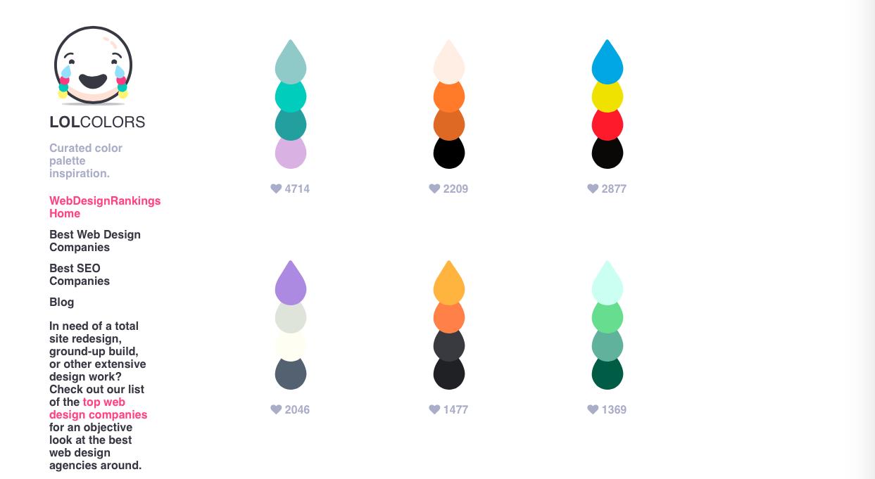 lol colors - Webデザイン・UIデザイン関連のカラーツールまとめ