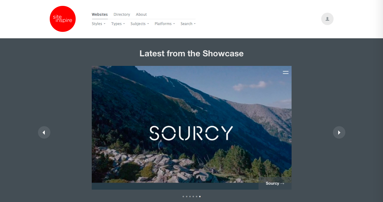 siteinspire - Webデザインをする上で参考になる目的別ギャラリーサイト・リンク集まとめ
