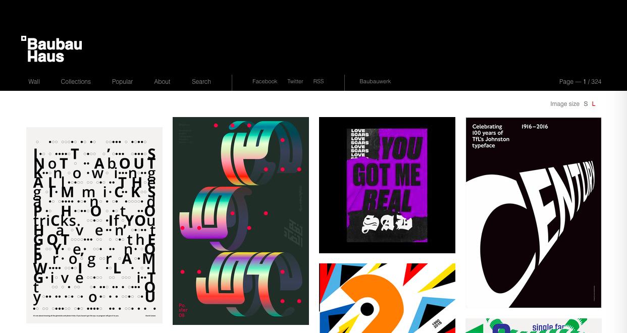 baubauhaus 1 - デザイン・イラストのインスピレーションを引き出してくれるサイト・サービス