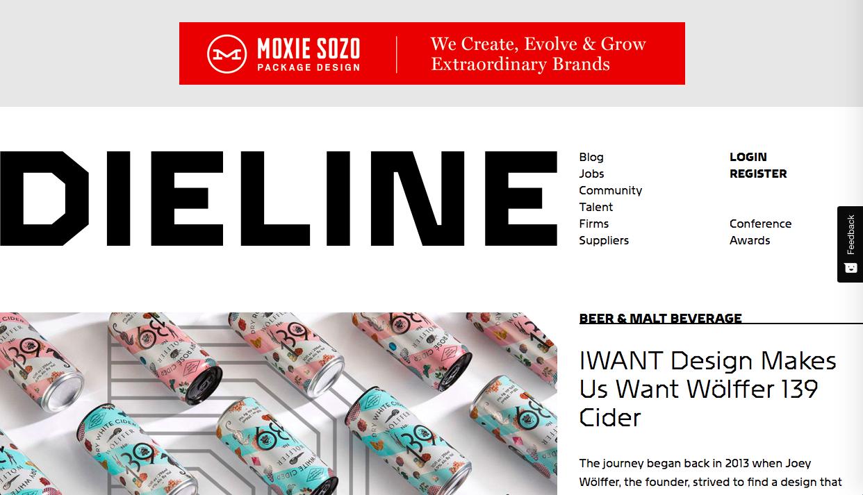 dieline 1 - デザイン・イラストのインスピレーションを引き出してくれるサイト・サービス