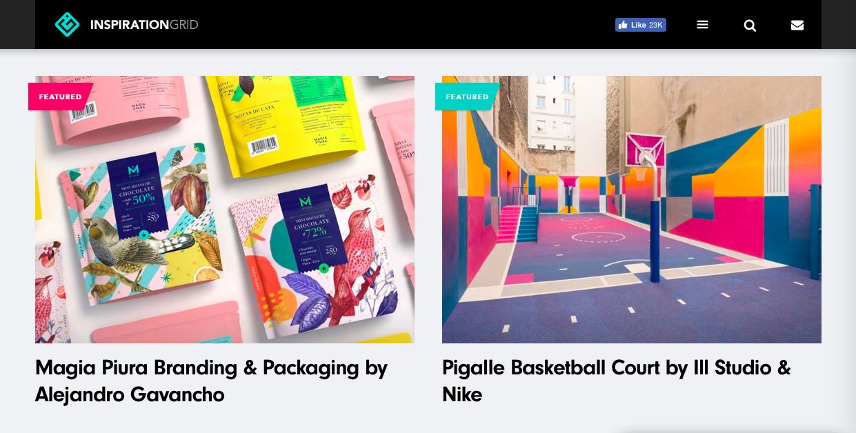 inspiration grid 1 - デザイン・イラストのインスピレーションを引き出してくれるサイト・サービス