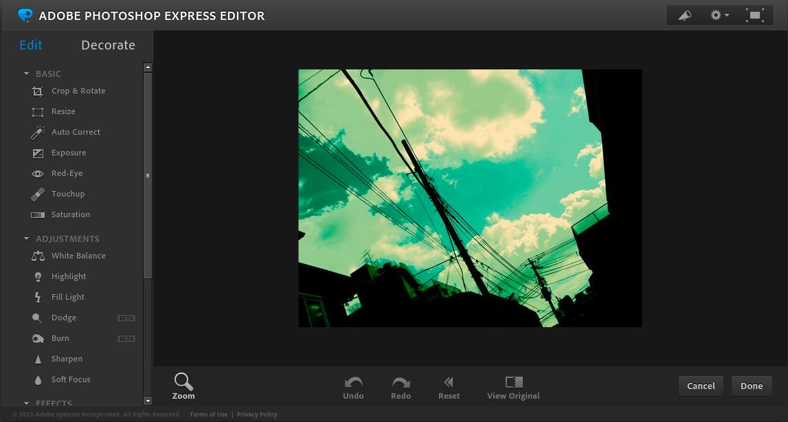 adobe photoshop express editor - Adobe製の無料・有料画像編集・加工ツールまとめ