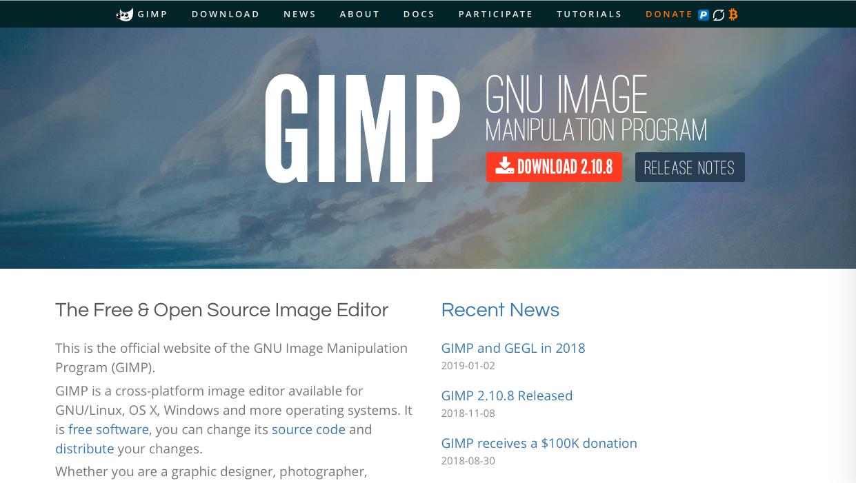 gimp - 2021年有料・無料イラスト作成ツール(お絵描き・ペイントソフト)の徹底比較