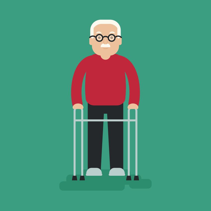 an elderly man - Adobe Illustratorのチュートリアルの一覧まとめ