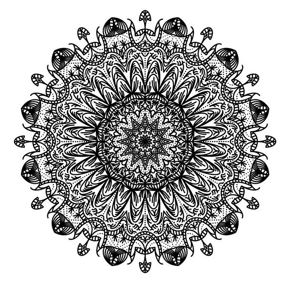 complex mandala patterns - Adobe Illustratorのチュートリアルの一覧まとめ