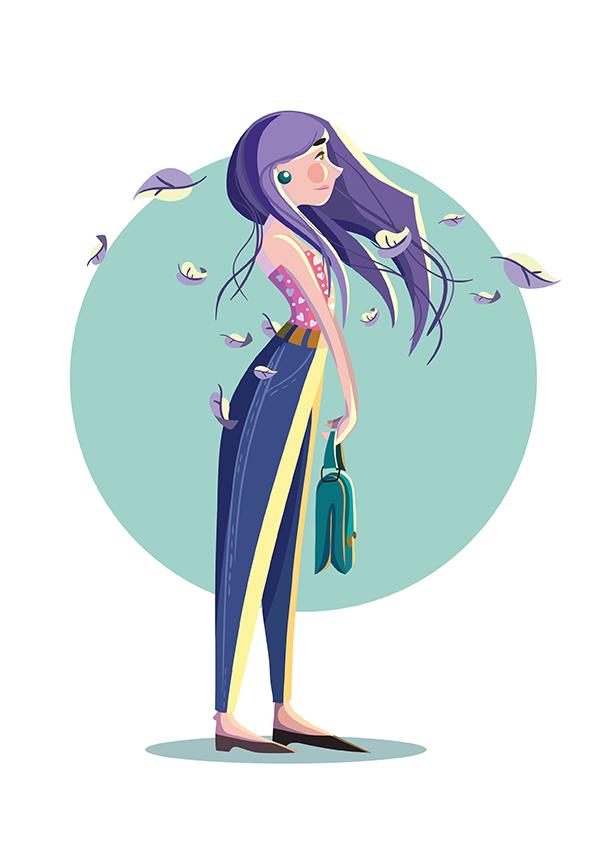 female character - Adobe Illustratorのチュートリアルの一覧まとめ