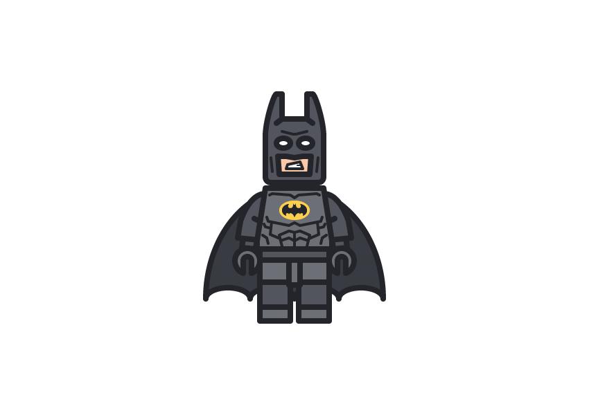 lego batman - Adobe Illustratorのチュートリアルの一覧まとめ