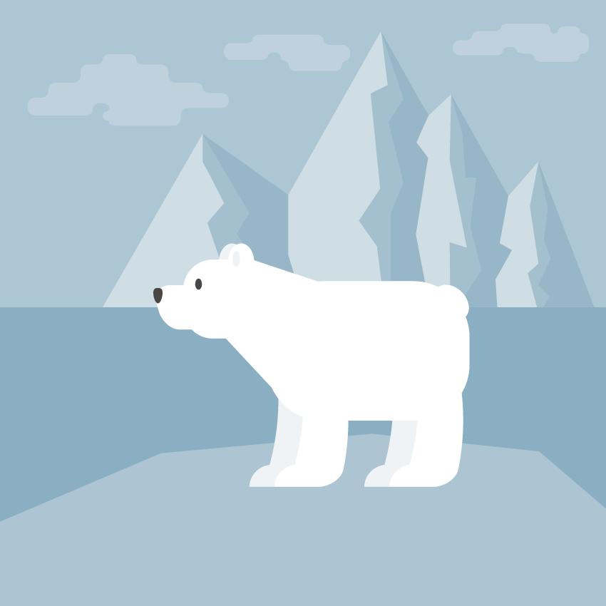 polar bear - Adobe Illustratorのチュートリアルの一覧まとめ