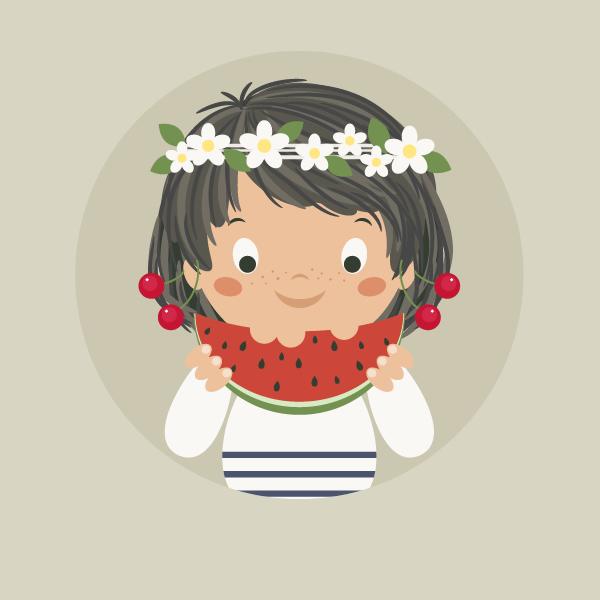 summer girl - Adobe Illustratorのチュートリアルの一覧まとめ