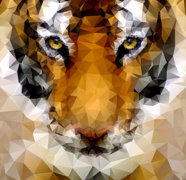 tiger poly - Adobe Illustratorのチュートリアルの一覧まとめ