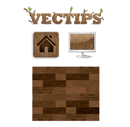 wood grain texture  - Adobe Illustratorのチュートリアルの一覧まとめ