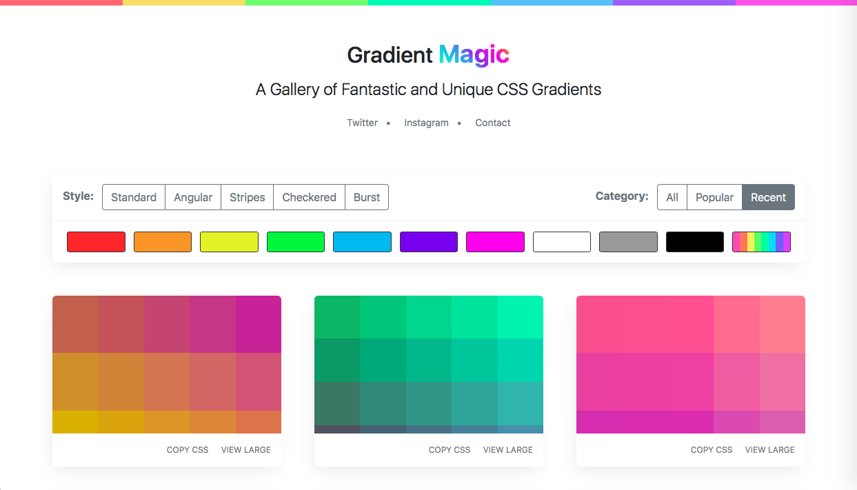 gradient-magic