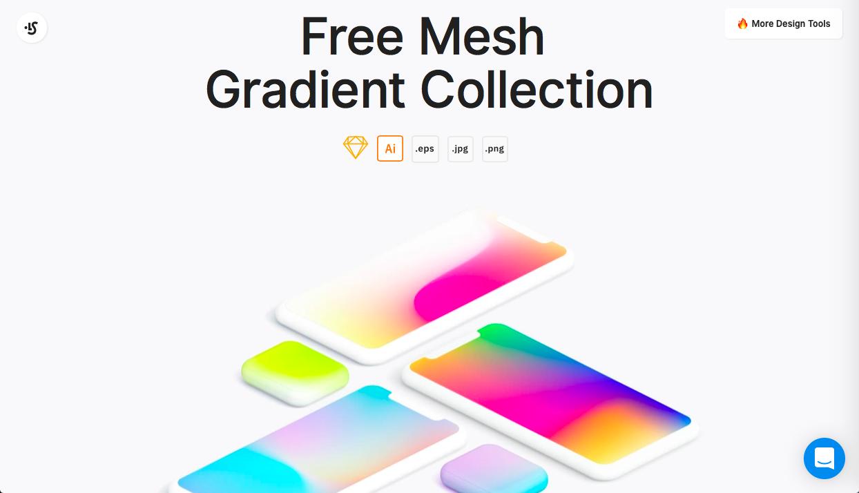mesh gradients - グラデーション関連のカラーツールまとめ