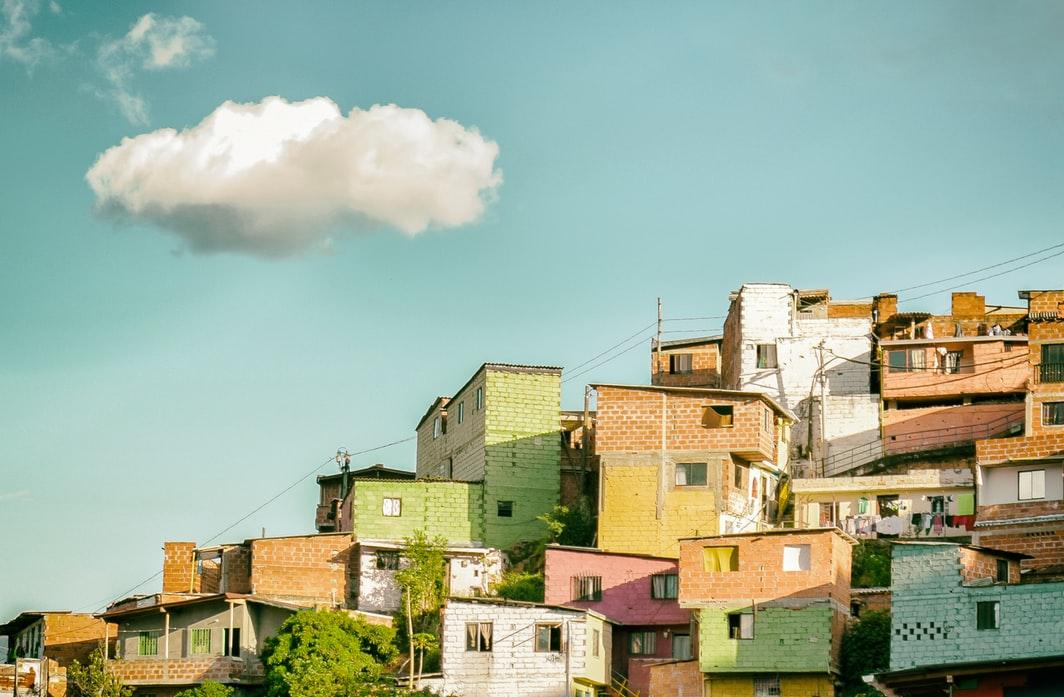 village-sky