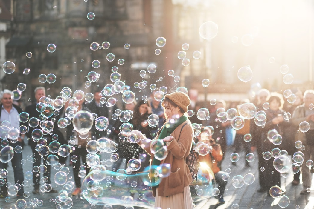 woman-bubble