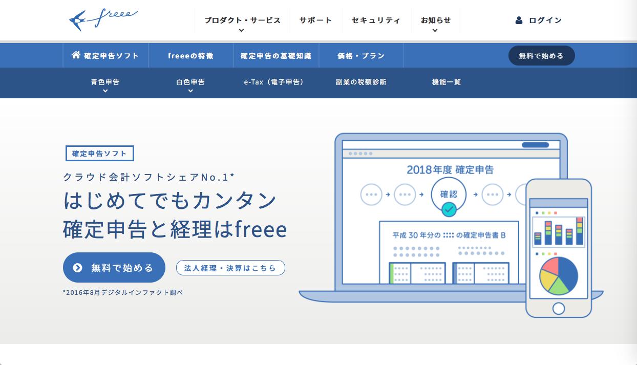 freee invoice - フリーランスのための請求書作成ソフトの選び方「クラウド会計と連携も可能」