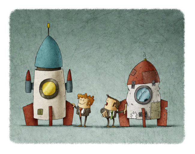 human-rocket