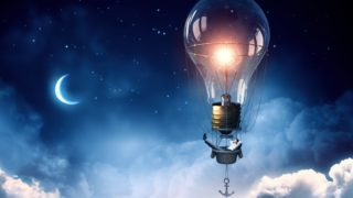 night moon lamp 320x180 - フリーランスデザイナー向けのWeb集客に必須な情報コンテンツ「その内容と発信方法」