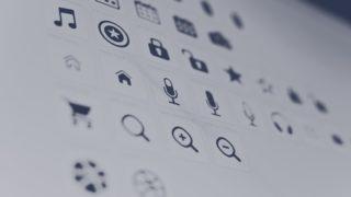 design icon 320x180 - アイコン系の無料(フリー)のイラスト素材サイト・サービスまとめ