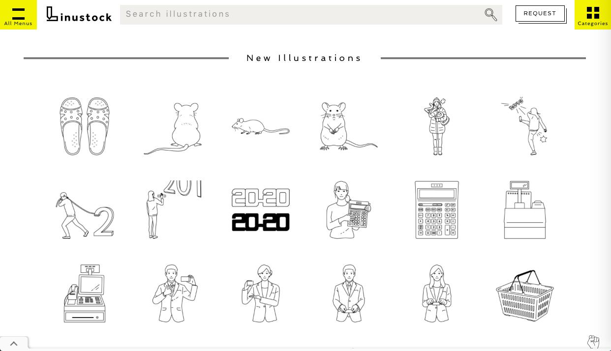 linustock - 専門・特化型の無料(フリー)のイラスト素材サイト・サービスまとめ