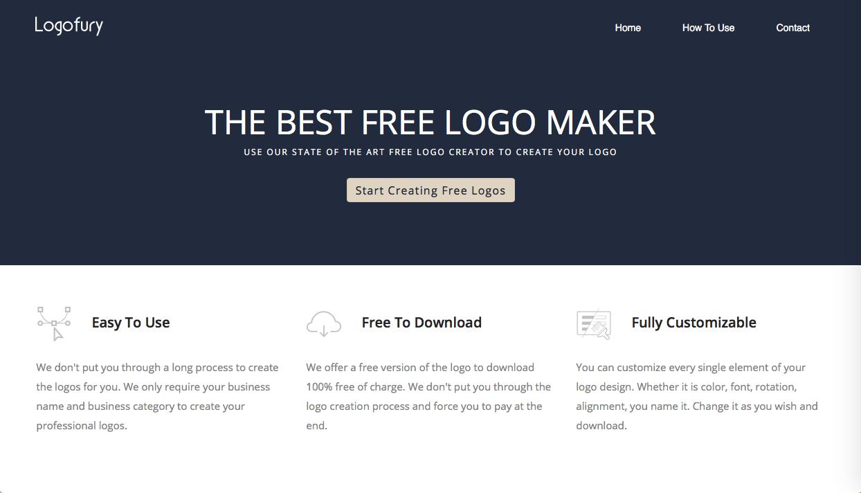 logofury - ロゴデザインの参考になるWebサイト・ギャラリーサイトまとめ