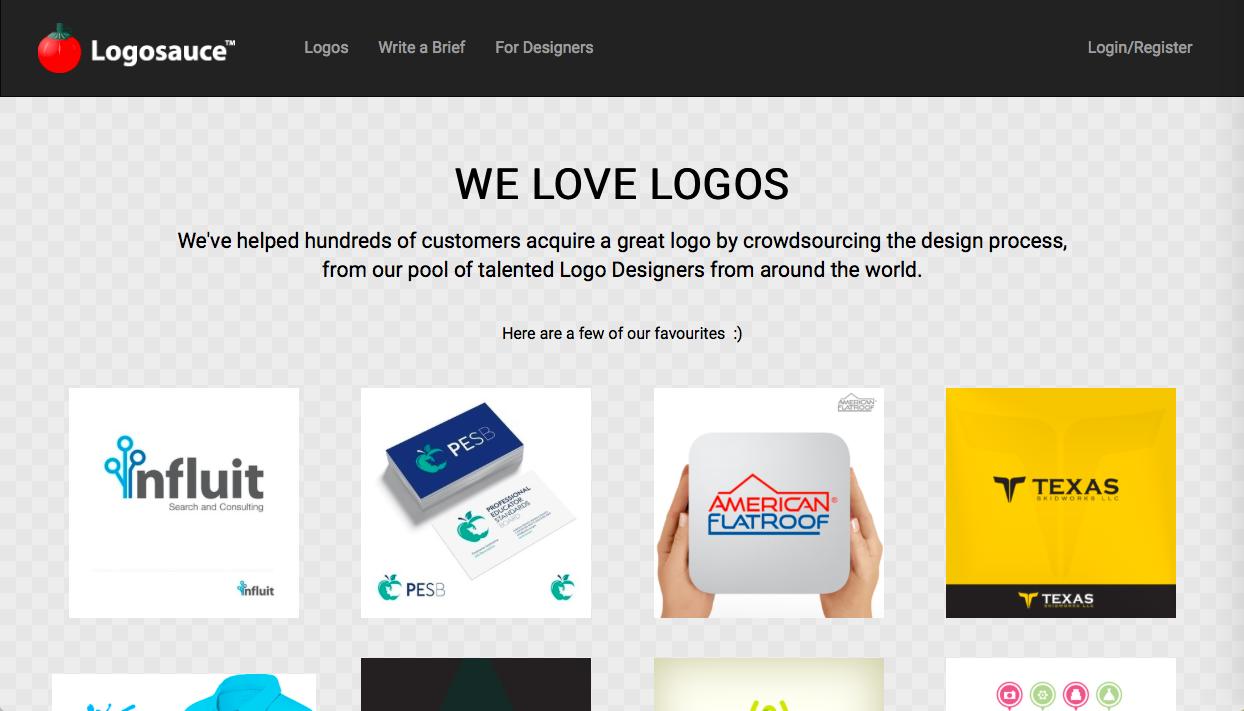logosauce - ロゴデザインの参考になるWebサイト・ギャラリーサイトまとめ