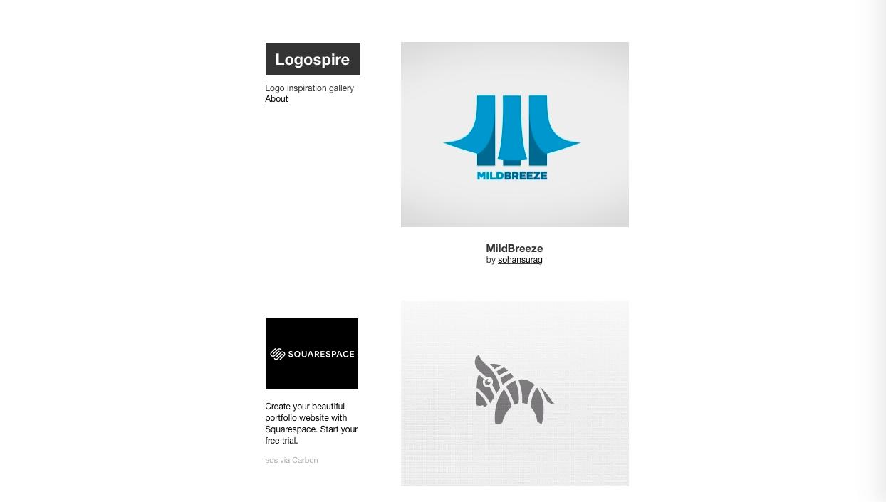 logospire - ロゴデザインの参考になるWebサイト・ギャラリーサイトまとめ