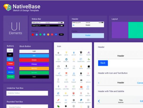 nativebase-sketch-template-sketch-resource