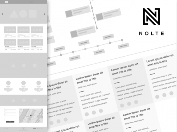 ux kit by nolte sketch resource - 無料で利用できるSketch用のUIキット・デザイン素材まとめ
