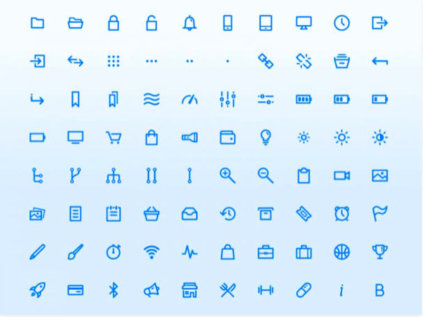 dripicons v2 200 icons sketch resource - 無料で利用できるSketch用のUIキット・デザイン素材まとめ