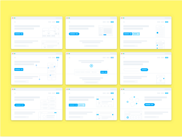 landing-page-layouts-sketch-resource