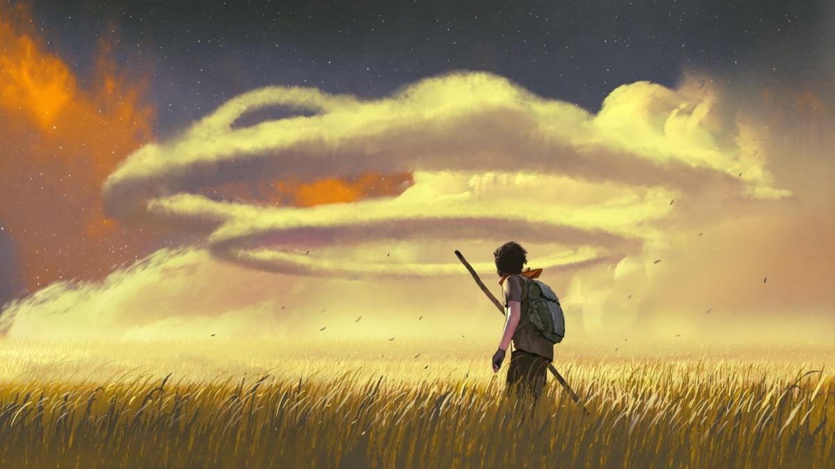human-cloud-evening