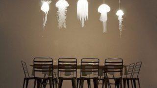jellyfish light 320x180 - クラゲ (海月) をテーマにした様々なデザインやアート
