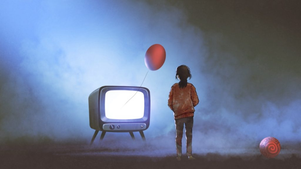 television-girl