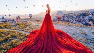 kristina makeeva art 320x180 - 服 (ドレス) をテーマにした様々なデザインやアート