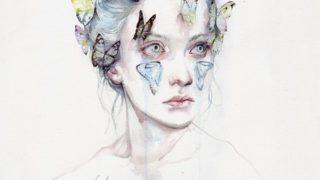 agnes cecile art 320x180 - 水彩絵具で描かれた様々なイラストやアート