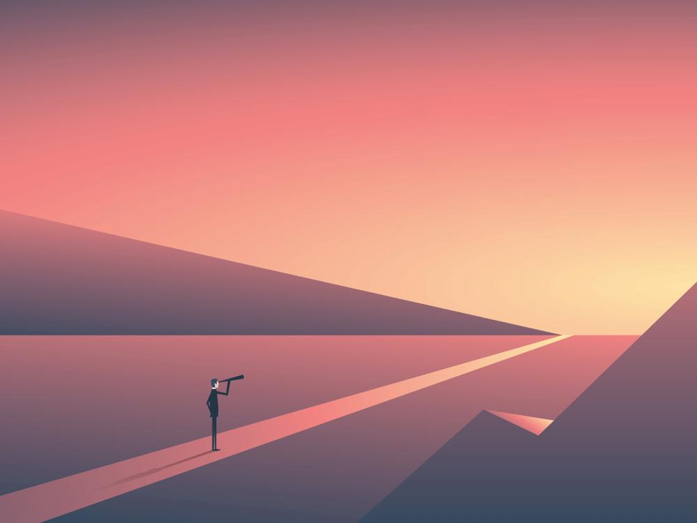 alone-view-sunset