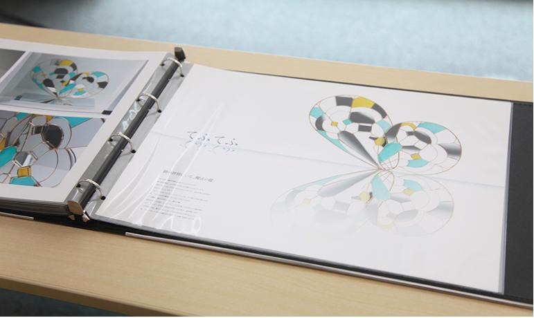 portfolio example 21 - デザインのポートフォリオとは何か?「実物を用いて解説」